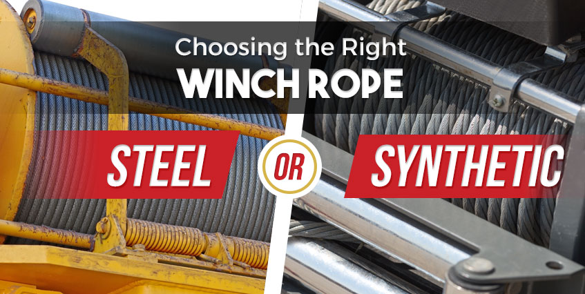 Choosing the Right Winch Rope Steel or Synthetic